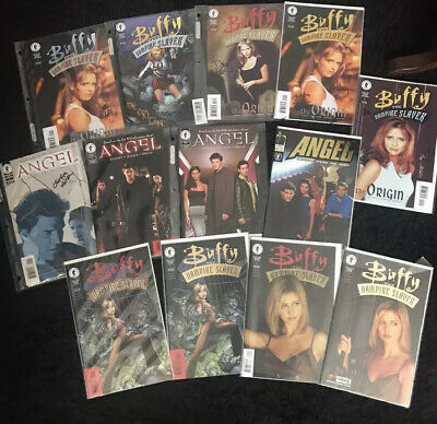 £650 • Buy Buffy Angel (1998/1999) 43 Comic Collection RARE Dynamic Forces/Signed/COA/foil