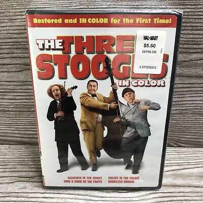 £5.74 • Buy The Three Stooges - In Color (DVD)