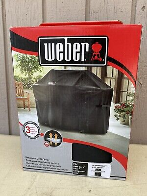 $ CDN74.68 • Buy Weber 7108 Grill Cover With Storage Bag For Summit 400 Series Gas Grills NIB!