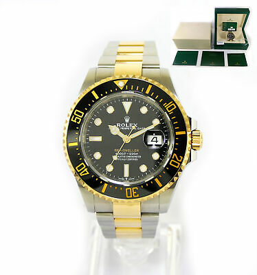 $ CDN22028.61 • Buy May 2021 Rolex Sea-Dweller Two Tone 18k Gold And Steel 43mm 126603 Box Papers