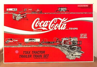 £158.61 • Buy K-line O Scale Coca Cola Ttax Tractor Trailer Train Set Ob - Maybe Incomplete