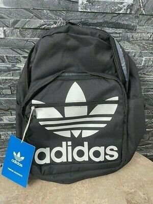 AU38.03 • Buy New Adidas Backpack #cl5498 Black / White