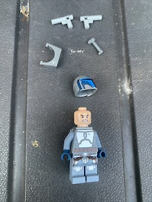 £90 • Buy LEGO Star Wars Jango Fett (Angry) Minifigure SW0845 Excellent