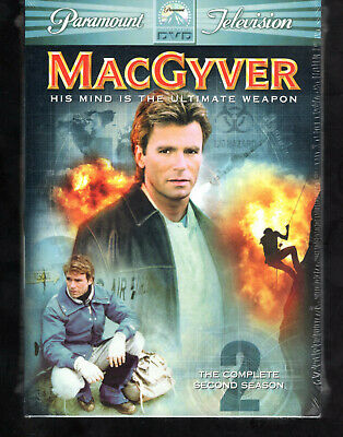 $12.50 • Buy MacGyver - The Complete Second Season 2nd 2 DVD Set NEW SEALED Collectible Gr