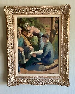 £325 • Buy French Post Impressionist Oil Painting
