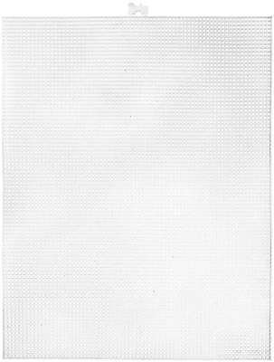 £13.56 • Buy Plastic Canvas Count Pack Of 12 Clear 10.5 X 13.5-Inch 7