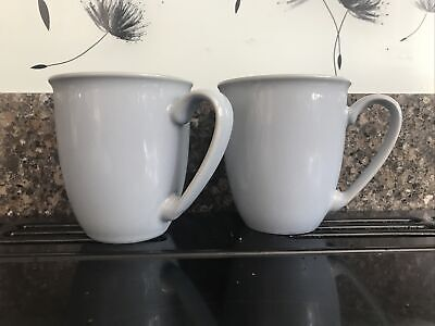 £7 • Buy Denby Mug X 2 Everyday Collection Cool Blue