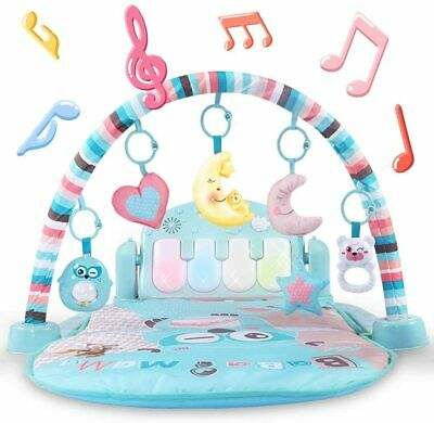 £50.99 • Buy Baby Gyms And Activity Play Mat Kick And Play Piano Gym Centers With Music And L