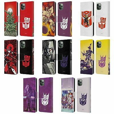 £15.27 • Buy OFFICIAL TRANSFORMERS COMIC ART LEATHER BOOK CASE FOR APPLE IPHONE PHONES