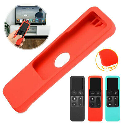AU4.97 • Buy For Apple TV 4th Gen Remote Controller Anti-Dust Silicone Case Cover Skin OZ