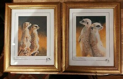 £10 • Buy STEPHEN GAYFORD Pair Of  Limited Edition GICLEE ART PRINTS- SIGNED -