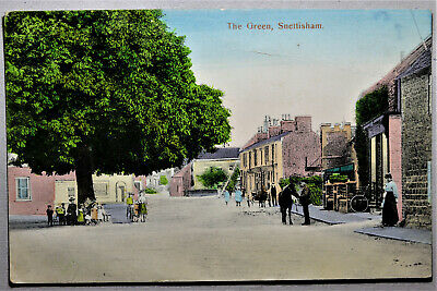 £1.60 • Buy Snettisham, The Green - Busy Scene. 1908. To Sharman Beccles, See All Images
