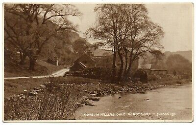 £2.99 • Buy P.C Cottages And River Wye Millers Dale Derby Derbyshire Good Cond P U 1928 R P