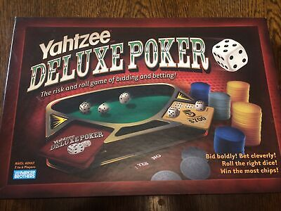 £8.90 • Buy Yahtzee Deluxe Poker From Parker 2005 Complete - Bid Boldly! Bet Cleverly! F/VGC