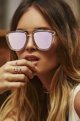 AU27.18 • Buy $65 New Quay Australia French Kiss Sunglasses In Clear Rose MUST HAVE, SOLD OUT!