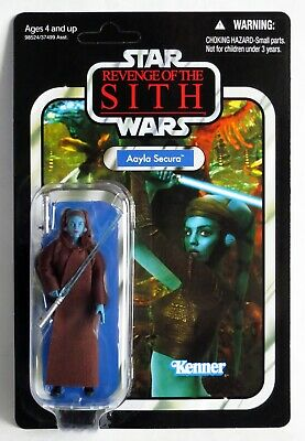 $ CDN129.03 • Buy Aayla Secura Vintage Collection *MINT Unpunched* VC58 2010 Hasbro Star Wars MOC