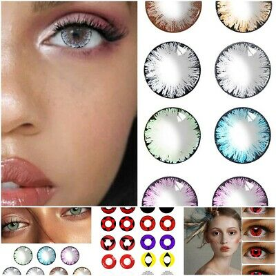 £4.93 • Buy 1Pair Eye Color Contact Makeup Cosplay Party Set
