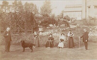 £4.99 • Buy CROQUET, REAL PHOTOGRAPH POSTCARD, BERKSHIRE? Early 20thc