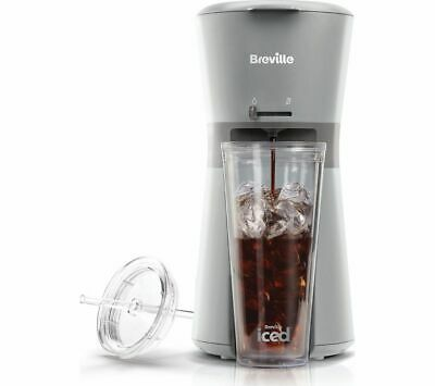 £39.99 • Buy BREVILLE VCF155 Iced Coffee Machine Removable Nylon Filter - Grey - Currys
