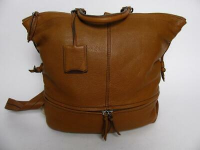 $ CDN237.57 • Buy Danier Leather Large Backpack Purse Terracotta Day Tripper Overnight Tote Bag