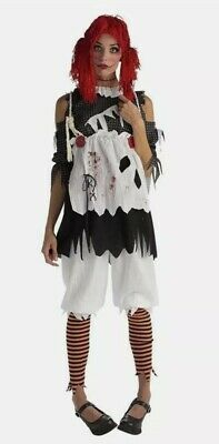 £18.99 • Buy RUBIES UNHAPPILY EVERAFTER Fancy Dress RAG DOLL GIRL Size 8 10 12 Halloween