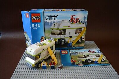 £5 • Buy LEGO City Camper (7639) With Box And Manual