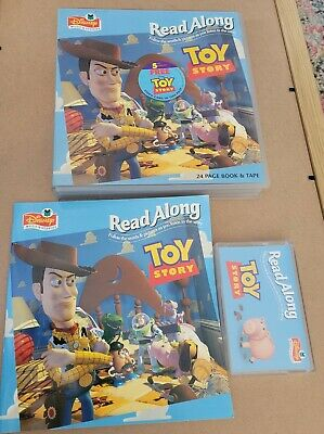 £15 • Buy Retro Disney Read Along Toy Story 24 Page Book & Cassette Tape