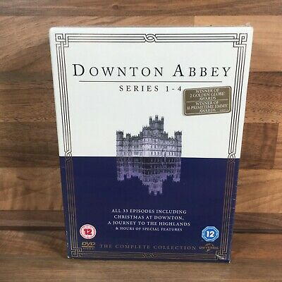 £12.95 • Buy Downtown Abbey The Complete Collection DVD Series 1-4 & Sealed Box Set