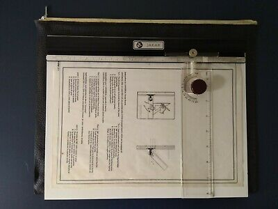 £7 • Buy Jakar A4 Engineering Draughtsman Design Board With Scale Guide In Case