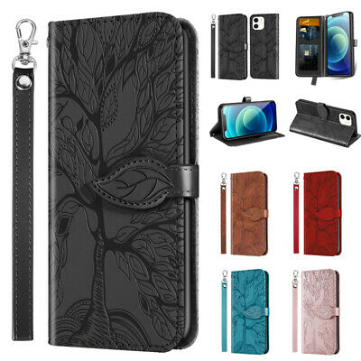 AU12.49 • Buy For IPhone 12 11 Pro Max XR X 8 7 6 Plus Case Magnetic Flip Leather Wallet Cover
