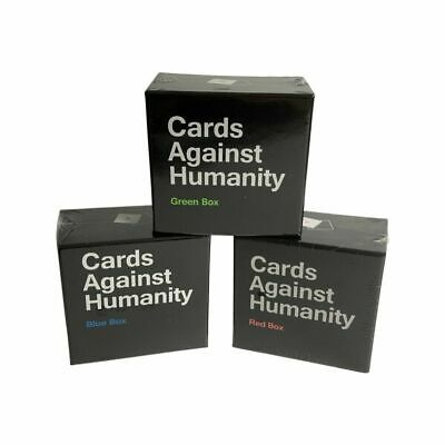 AU27.95 • Buy Cards Against Humanity Red Green Blue Box Expansion Pack Au Stock