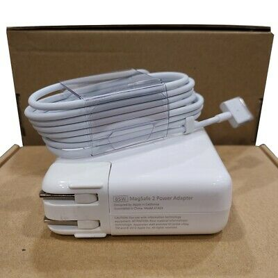 $24.38 • Buy 85W MagSafe 2 Power Adapter Charger For MacBook Pro 15  A1424 A1435 T-Tip (New)