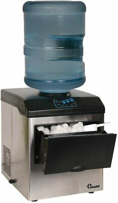 $379.99 • Buy Large Ice Maker 40lbs Chilled Water Dispenser Stainless Steel 5 Gallon Jug