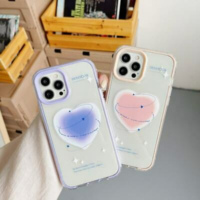AU7.91 • Buy 3 In 1 Heart Clear TPU+PC Phone Cover Case For IPhone 7 8+ 11 12 Pro Max XS XR