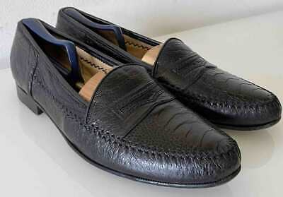 £72 • Buy Moreschi Ostrich Loafers / Shoes Men Sz 13 Med / Handmade In Italy