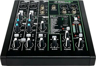 $13 • Buy Mackie ProFXv3 Series, 6-Channel Professional Effects Mixer With USB (ProFX6v3)