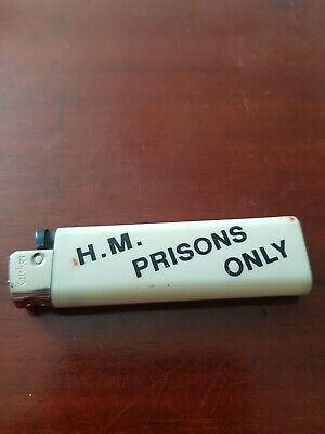£10 • Buy HMP Prison Lighter From 1980s Working