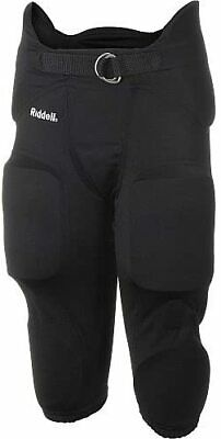 $23.99 • Buy Riddell Mens' Football Pants W/ 7 Integrated Pants And Belt, Choose Size & Color