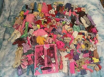 $ CDN41.54 • Buy Vintage BARBIE HUGE LOT Clothes Accessories Priority Mail Toys Armoire Shoes