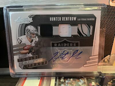 AU22.41 • Buy Hunter Renfrow Tools Of The Trade /35 Auto Card Raiders Absolute Football