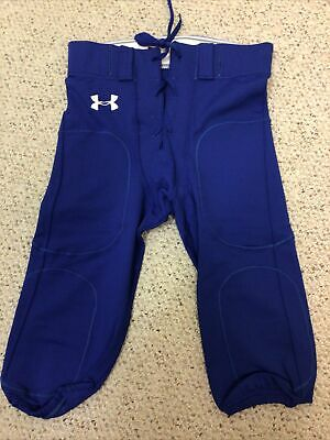 $14.50 • Buy New Under Armour Men's Football Pant - Size Large L - Blue