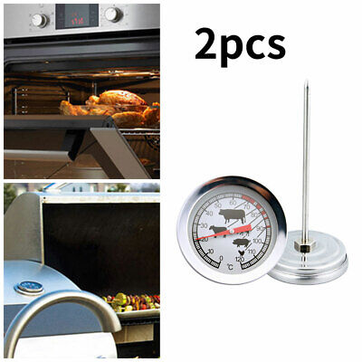 $17.06 • Buy BBQ Meat Grill Cooking Thermometer Stainless Steel 4.13  Stem - 0-120°C Celsius