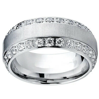 AU2.90 • Buy Gorgeous Women Wedding Rings 925 Silver Jewelry White Sapphire Ring Size 6-10