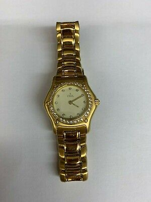 £5195 • Buy EBEL Ladies 1911 18 Carat Gold Watch With Diamond Bezel And Champagne Face