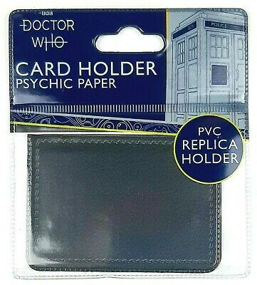 £10.99 • Buy Doctor Who PSYCHIC PAPER Replica Card Holder Wallet Travel Pass