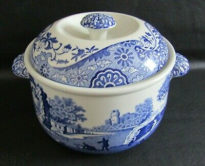£45 • Buy Spode Blue Italian Round Lidded Casserole, Vegetable Dish In Unused Condition