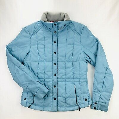 $ CDN44 • Buy Klim Womens Small Thinsulate Quilted Blue Snap Button Jacket