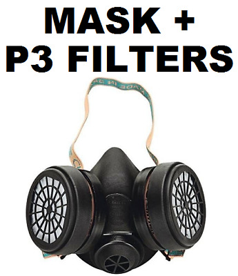£19.95 • Buy Climax - Ready To Use Half Face Mask WITH P3 Filter - UNE-EN 140: 1999 - CE Mark