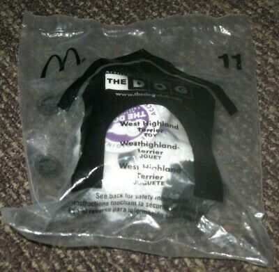£3.63 • Buy 2003 - 2004 The Dog McDonalds Happy Meal Plush Toy - West Highland Terrier #11