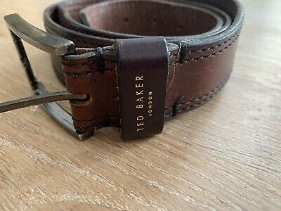 £9.99 • Buy Thick Brown Belt, Ted Baker, 41 Inch, 104 Cm